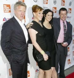 From left are Anthony Michael Hall, Molly Ringwald, Ally Sheedy and Judd Nelson