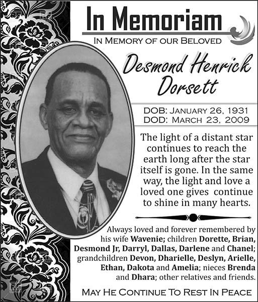 Desmond Dorsett