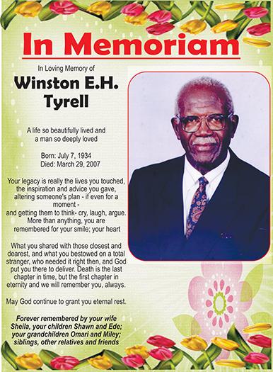 Winston E.H Tyrell