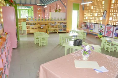 Inside the new nursery school (GINA photo)