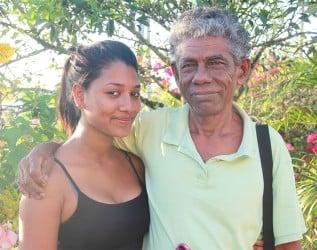 Ivan Singh and granddaughter Amaya Singh