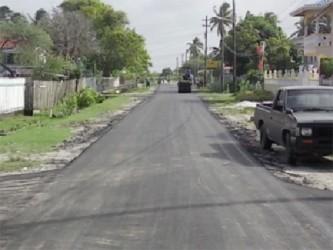 School Street, Enterprise (MPW photo)
