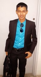 Boy businessman:  Roopnarine Singh