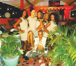 """Ego and his team of dancers at the """"Party Hard"""" Video Shoot this year"""
