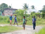 Boys on a mission: Village boys seeking fun
