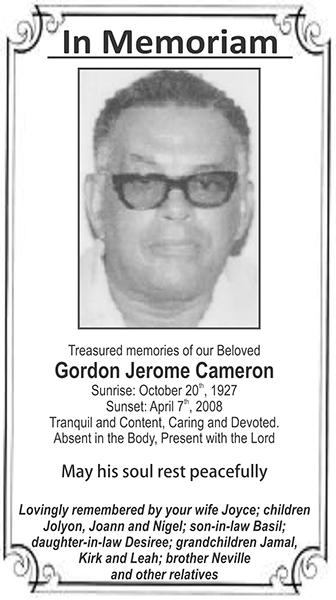Gordon Jerome Cameron