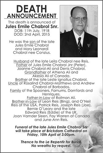 Jules Emile Chabrol Snr.