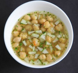 Channa (Chickpea) Souse (photo by Cynthia Nelson)