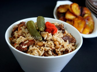 A unifying dish: Cook-up Rice (Photo by Cynthia Nelson)