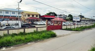 The GRA's State Warehouse at Eccles, East Bank Demerara