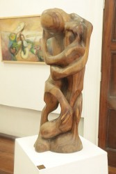 Untitled (Couple in Embrace)  1992 – Omawale Lumumba