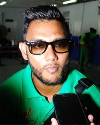 Davendra Bishoo is happy to play for Guyana Amazon Warriors