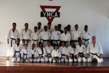 Team ASK-G at the YMCA dojo