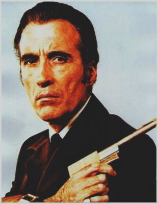 Christopher Lee, evil ...