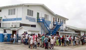 Food for the Poor Guyana headquarters in Festival City