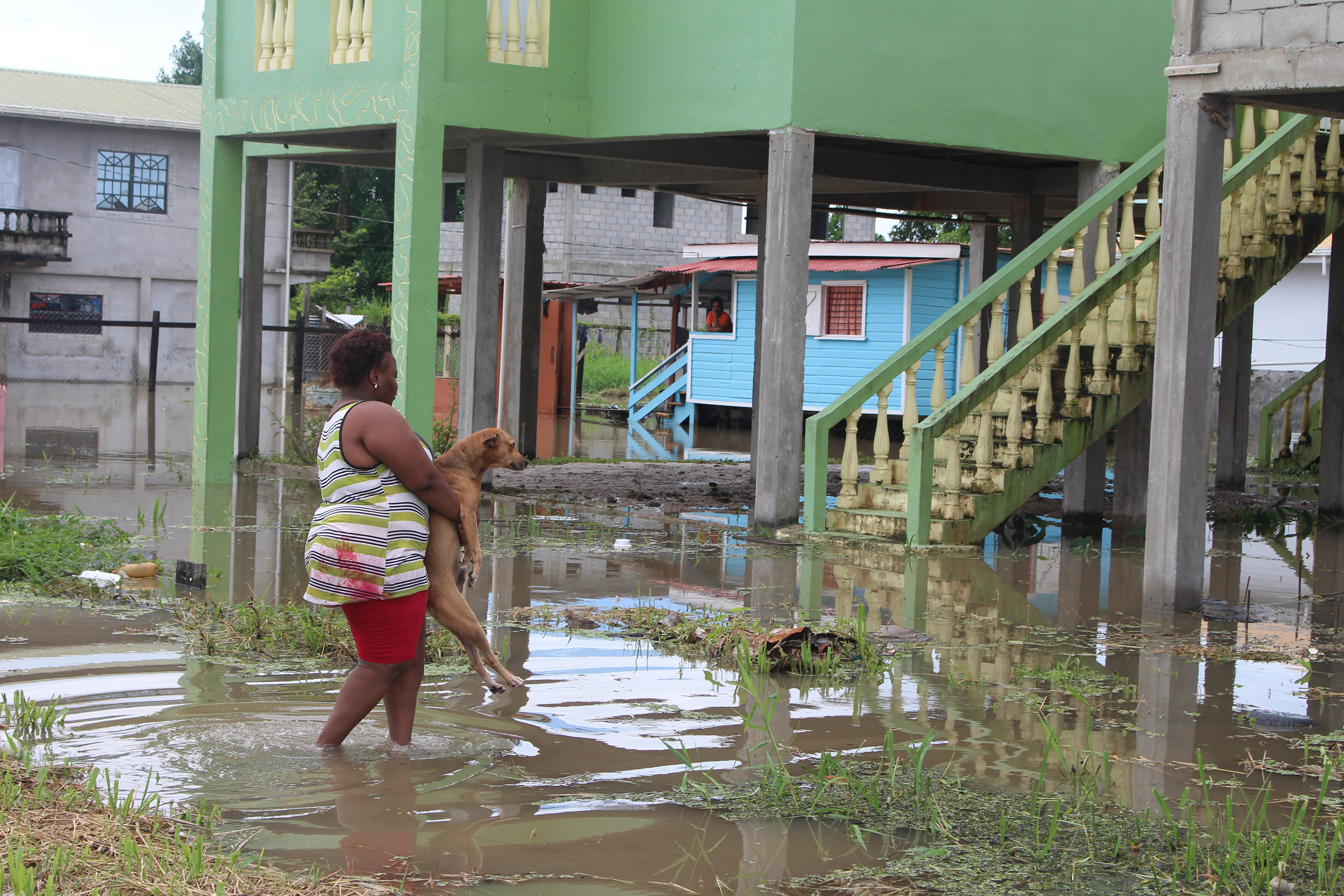 Flood Plunges City East Bank Residents Into Misery