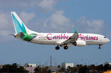 Caribbean Airlines flying over region