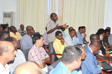 Investment talk: With the new APNU/AFC administration having declared its preparedness to support private investment in the various sectors of the economy the Guyana Office for Investment is being challenged to reinvent itself to play a more vibrant role giving direction to investment interests among local and potential entrepreneurs. Last Tuesday's Investment Workshop generated discussion on a range of issues sufficient to provide the state-run agency with  food for thought regarding its agenda in the period ahead.