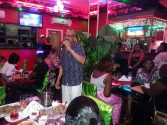 Karaoke at the Midtown Chariot