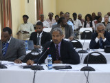 Lawyers and others at the hearing on Monday