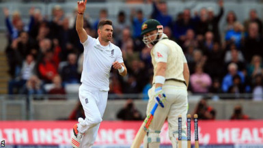 James Anderson picked up six wickets to put England in control.