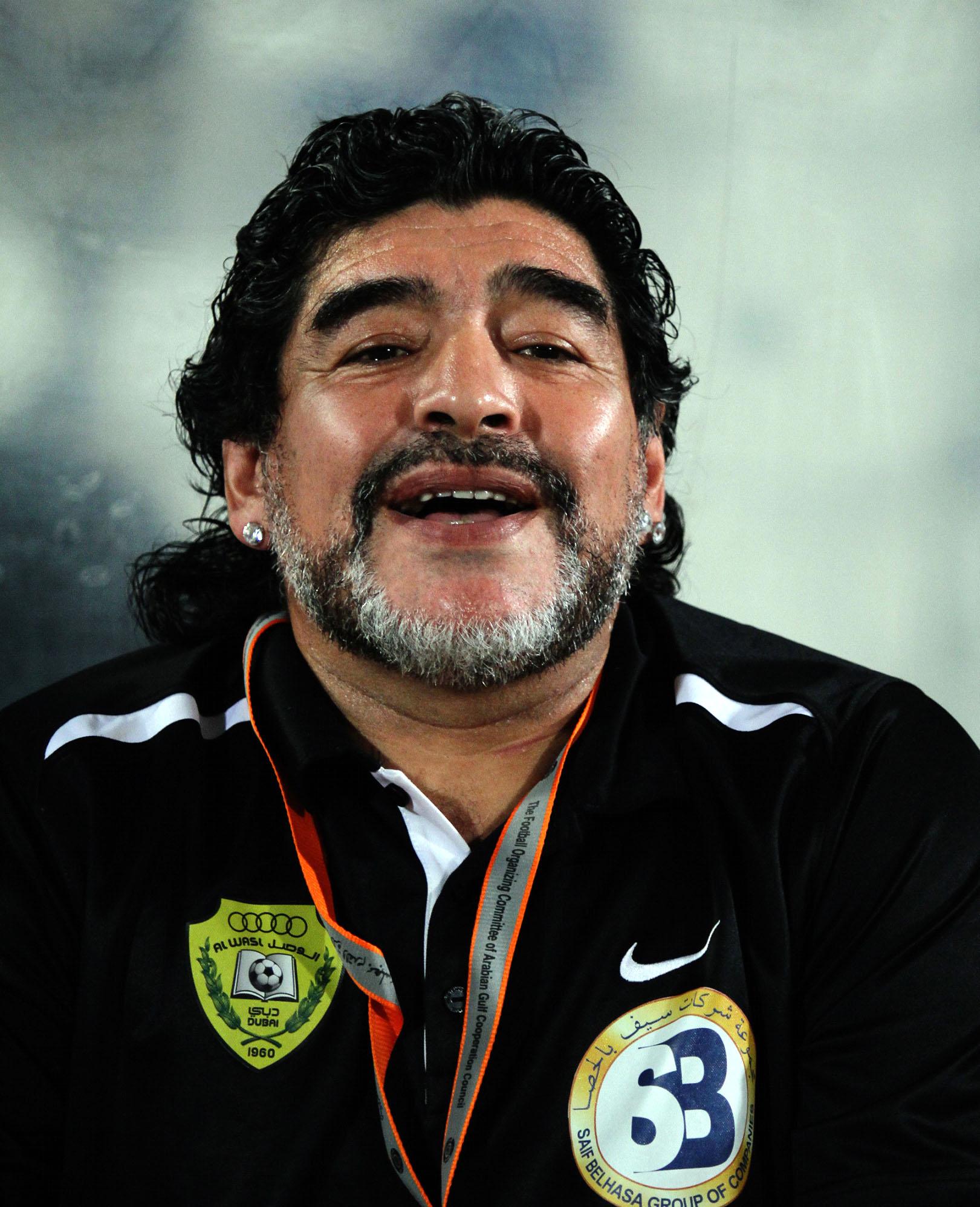 Where Diego Armando Maradona is a God, Literally   Maradona