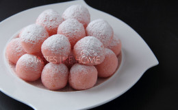 From Coconut Ice to Coconut Ladoo (Photo by Cynthia Nelson)