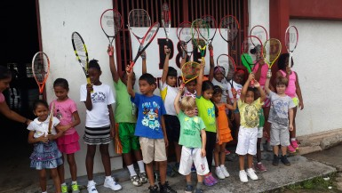 Some of the future tennis stars
