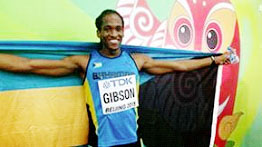 Gibson has now lowered the national record four times within six weeks.