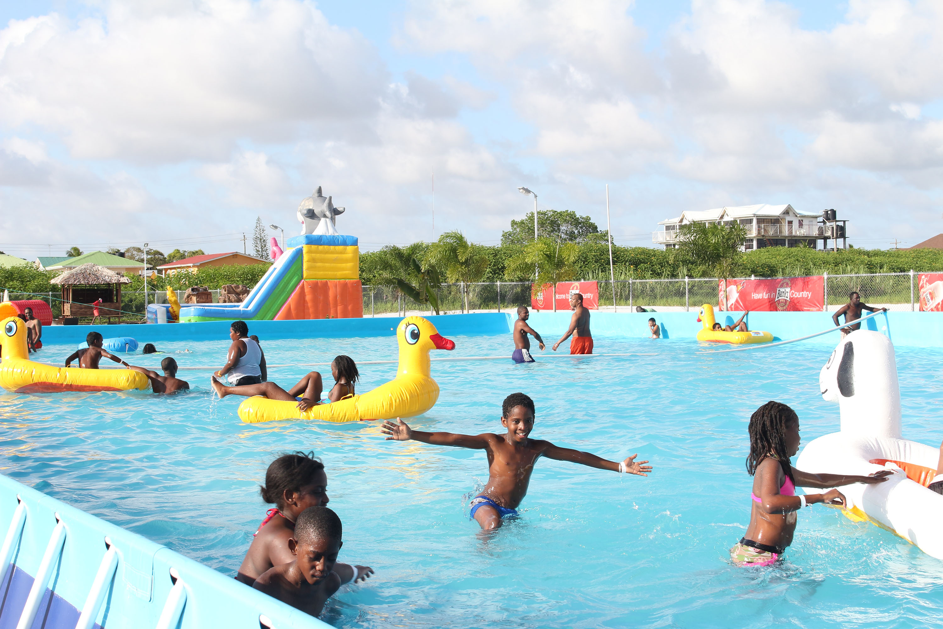Young People Enjoying Themselves Stabroek News