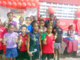 Some of the successful participants following the completion of the tournament.