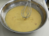 Emulsified garlic butter sauce (Photo by Cynthia Nelson