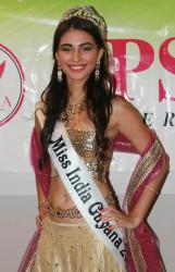 Miss India Guyana Lieve Blanckaert