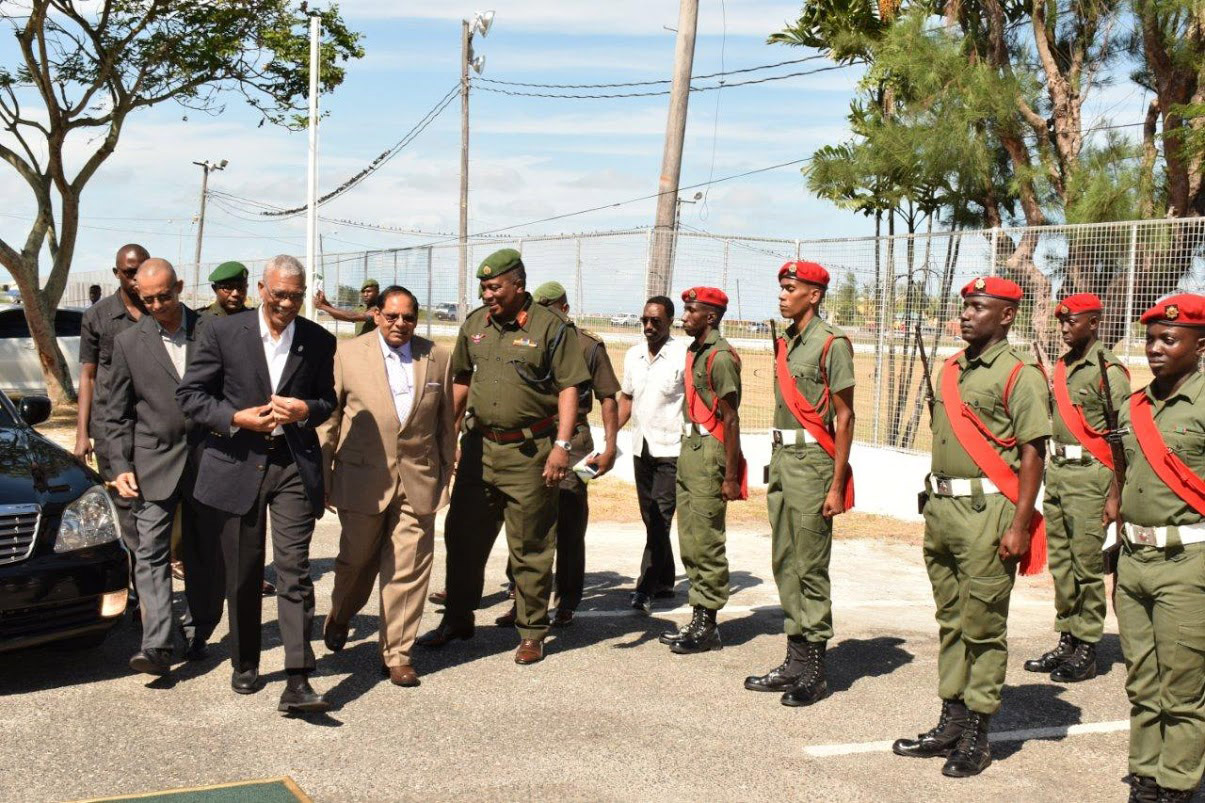 "guyana defence force in national development ""the guyana defence board, recognising the need to enhance defence and development took the decision, in 2015, to recapitalise the force's technical corps,"" he said."