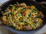 A homemade 'sweet hands' favourite: Chicken Chowmein (Photo by Cynthia Nelson)