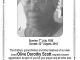 Olive Scott