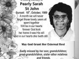 Pearly St John