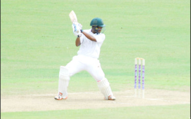 Leon Johnson will be eye his first century this season when he resumes his innings today