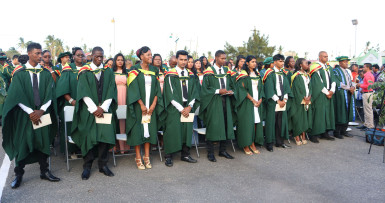 UG's 2015 Tain Graduates