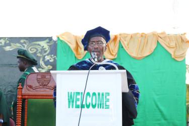 UG Registrar Dr Nigel Gravesande