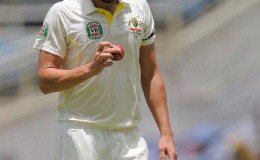 Australia fast bowler Mitchell Starc … in doubt for West Indies series.