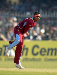 West Indies off-spinner Sunil Narine … banned from bowling in international cricket.