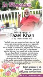 Fazel Khan