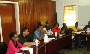 A section of the GWI executives at the meeting. (GWI photo)