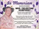 Celestine Humphrey