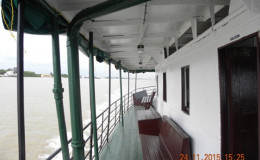 Part of the passenger area on the Lady Northcote (GINA photo)