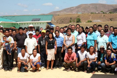 Participants at the workshop (GINA)