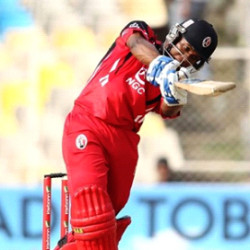 23-year-old Evin Lewis plundered 101 not out from 65 balls.