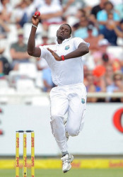 Captain and pacer Jason Holder … was the best bowler with two for 41. (file photo)