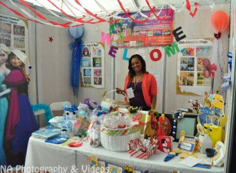 Venturing out: Onika Reynolds at the Business Expo